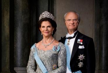 King Carl & Queen Sylvia