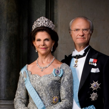 King Carl & Queen Sylvia